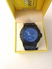 Invicta #12044 Subaqua Mens Dark Blue Watch Rubber Bracelet
