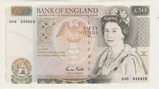 B356 G.M.GILL £50 BANKNOTE IN CRISP NEAR MINT CONDITION