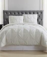 Truly Soft Everyday Pleated 2 Piece Twin Duvet Cover Set Ivory $93
