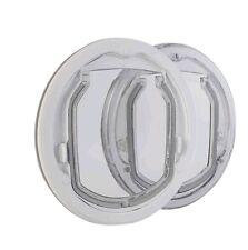 PC2-W-Pro, große Katzenklappe für den Glaseinbau. Katzentür aus Bayer Makrolon