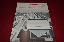 Case Tractor Grinder Mixer Bulk Delivery Units For 1966 Dealer's Brochure YABE5