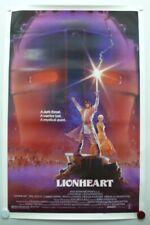 LION HEART 1987 Eric Stoltz, Gabriel Byrne, Nicola Cowper-One Sheet