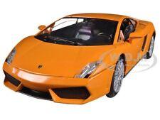 LAMBORGHINI GALLARDO LP560-4 ORANGE 1/24 DIECAST MODEL CAR BY MOTORMAX 73362