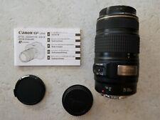 Canon EF 75-300mm f/4-5.6 IS USM Zoom Lens EOS Bildstabilisierung