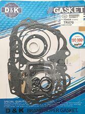 HONDA TRX70 FOURTRAX D&K COMPLETE ENGINE GASKET SET ALL YEARS