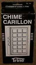 Trine Chime Carillon # 95 Door Chime White / Gold New lowest price on ebay!