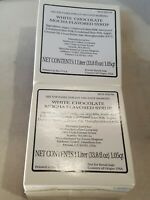 Starbucks White Chocolate Mocha Sauce 660z   - BEST BY sep , 2020