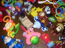 BOX FILLED WITH BOYS & GIRLS TOYS, BIG MIX, CARS, DOLLS, ANIMALS, MISSIONS, #DY