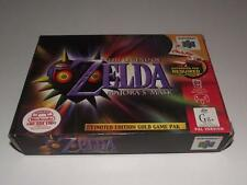 Legend of Zelda Majora's Mask Nintendo 64 N64 Boxed PAL Preloved *Complete* #2