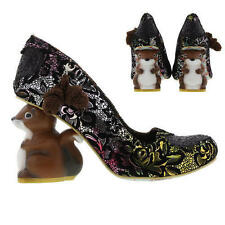 Irregular Choice Block Textile Heels for Women