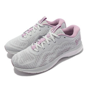 Under Armour Charged Bandit 7 UA Grey Purple Women Running Shoes 3024189-105