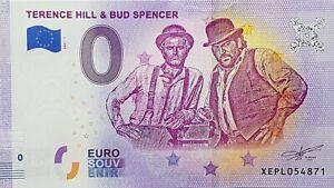 0 Euro Schein Bud Spencer und Terence Hill Souvenirschein Sammler-Banknote