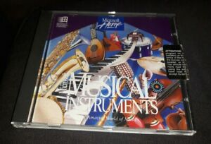 MICROSOFT MUSICAL INSTRUMENTS - PC SOFTWARE CD Disc