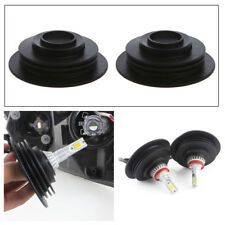 1 Pair Headlight Dust Cover Cap 3.2cm For LED HID Xenon Halogen Bulbs Durable