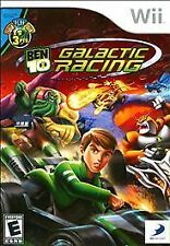 Ben 10 Galactic Racing, (Wii)FREE FIRST CLASS SHIPPING !!!!!