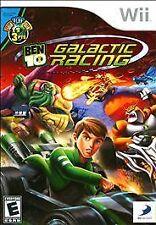 Nintendo Wii Ben 10 Galactic Racing VideoGames