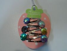mini hair clips,girls hair clips hair slides snap clips sparkle mermaid baby