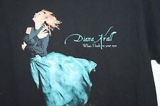 Vintage Diana Krall Concert T Shirt Tour 2000 When I Look In Your Eyes RARE M