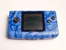 SNK NeoGeo Pocket Blue Camouflage Console NGP NGPC RARE