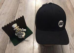 Joey Logano AMachenDesign #22 FlexFit Black M / L Trucker Hat New