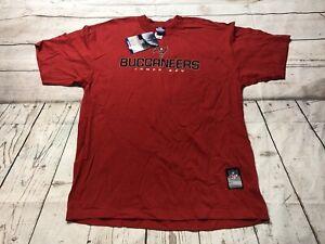 Vintage Reebok Tampa Bay Buccaneers T Shirt Large Y2K Championship New Nwt