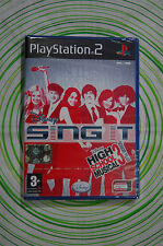 High school musical 3 ps2 pal NUOVO