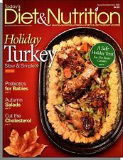 Today's Diet & Nutrition - 2009, November - Holiday Turkey: Slow and Simple