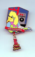 Disney Disneyland E Ticket America Sings Stork Tomorrowland Passholder LE Pin