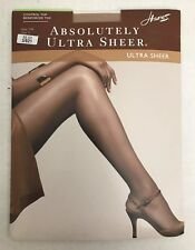 Hanes Absolutely Ultra Sheer Size E Color Barely There