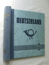 LIGHTHOUSE 'GERMANY' SPRINGBACK STAMP ALBUM, VERY GOOD CONDITION