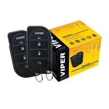 Viper 3105V Car Alarm Keyless System 3 Channel 1 Way + 2 Remotes Newest Model