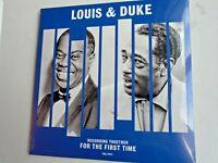 LOUIS ARMSTRONG & DUKE ELLINGTON UK LP 2020 new mint sealed vinyl 180g vinyl