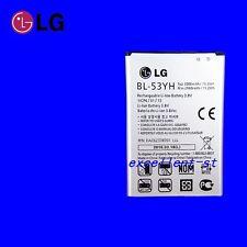 Original Genuine NEW Battery For LG G3 D850 D855 VS985 F400 3000mAh BL-53YH