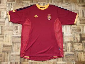 Spain Espana Adidas Size Large Climalite Jersey Futbol Soccer Fifa