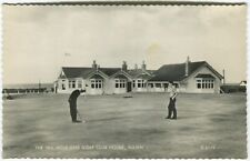 More details for the 18th hole and golf club house, nairn postcard (p5207)