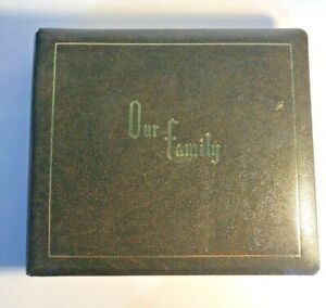 Vintage Our Family Photo Album - Unused - Unique - Recordable