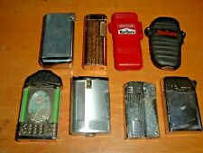 Lot of Eight Cigarette Lighters