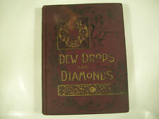 Dew Drops and Diamonds Illustrated for Boys and Girls 1898 GC Rare 99-2C