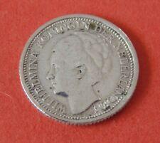 MONNAIE . DE 10 . CENTS . 1937 . EN ARGENT . PAYS BAS