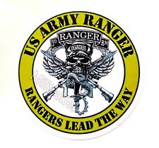 "Us Army Ranger ""Rangers Lead The Way"" 3rd Battalion Waterproof Vinyl Decal"