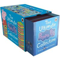 Brand New The Ultimate Peppa Pig Collection Box Set - 50 books boxset