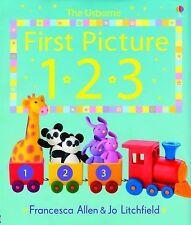 First Picture 123 (First Picture Board Books), Litchfield, Jo, Allen, Francesca,
