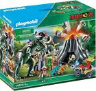 PLAYMOBIL Dinosaur T-Rex Volcano Eruption - Dinos (70327) Toys and Dolls