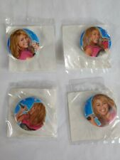 Hannah Montana Birthday Party set of 4 party favor buttons pins Free Shipping