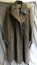 vintage SOVIET UNION USSR Wool Army Officer Overcoat Air force
