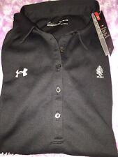 Under Armour Black Collar Button Shirt Loose SzXl Nwt Nice
