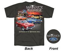New T-shirt Ford Maverick Roadhouse Charcoal Grey - Sizes S-3XL