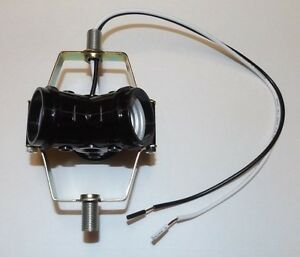 """3 LIGHT CLUSTER SOCKET WITH 12"""" WIRE LEADS LIGHT FIXTURE LAMP NEW 30177J"""