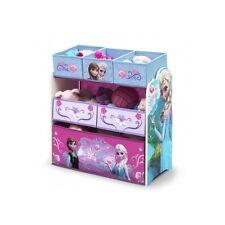 Toy Storage Box Disney Frozen Elsa Kids Bedroom Furniture Toys Organizer Bin