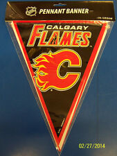 Calgary Flames NHL Hockey Sports Banquet Party Decoration Pennant Flag Banner